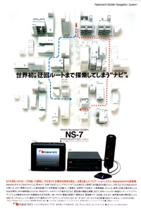 Nakamichi Car navigation system NS-7