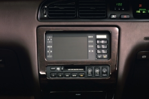 Toyota crown GPS Carnavigation electro-multivision 1991